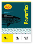 Rio Powerflex 9' Knotless Tapered Trout Leaders - Triple Pack
