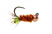 Chewing Gum Cased Caddis #12