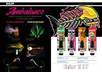 Ambulance Resins - Fluorescent, Glo in the Dark Chartreuse, Pink, Orange & Red