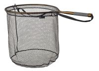 McLean Short Handled Rubber Mesh Sea Trout/ Salmon Net - Bronze Series