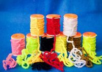 Stretch Worm Chenille - 3mm