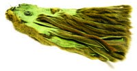 Micro Zonker Pine Squirrel Skin. Natural or Olive