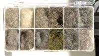 Dubbing Dispenser & Natural Fur Dubbing