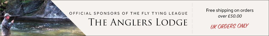 Official Sponsors of the Fly Tying League 2015/16 for Fly Fishing & Fly Tying Magazine